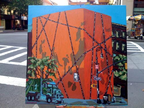 Process Painting | Hérmes Madison Avenue – BORBAY