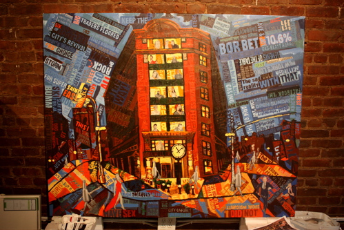 TriBeCa Grand NYC Borbay Painting