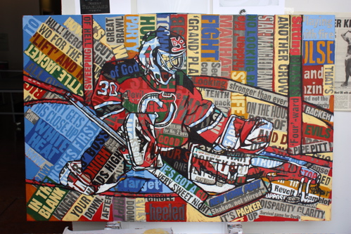 Martin Brodeur Painting Borbay