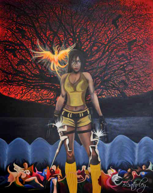 Phoenix Rising by Brandy Saturley