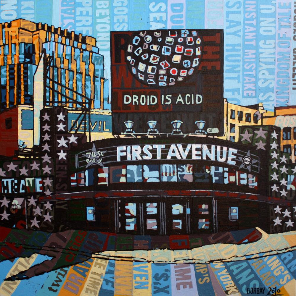 Minneapolis Painters: First Avenue Minneapolis Minnesota – BORBAY