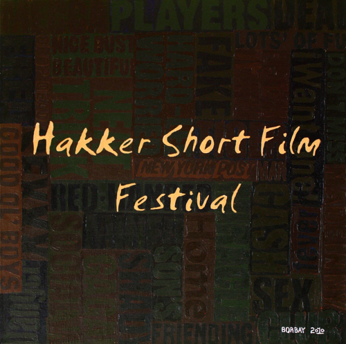 Hakker Short Film Festival Painting by Borbay