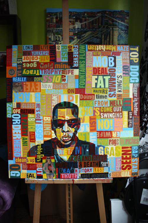 Jay-Z Portrait by Borbay