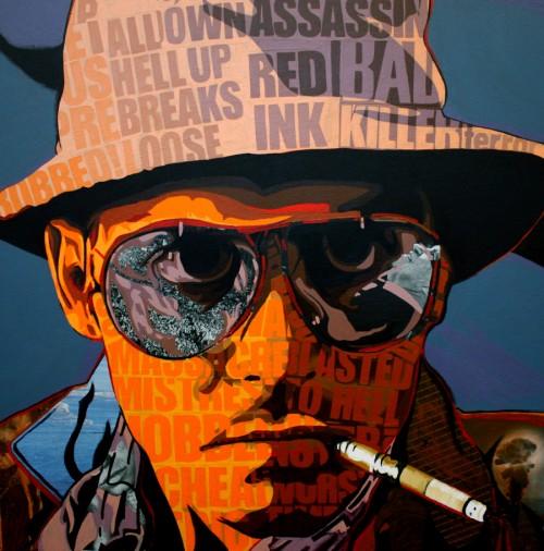 Hunter S Depp by Borbay