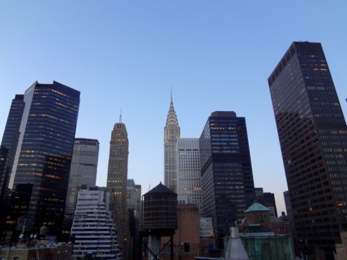 Borbay Chrysler Building Photograph