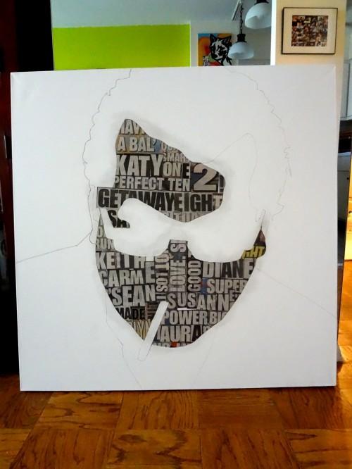 Simon Fredricks a Portrait Painting Process by Borbay