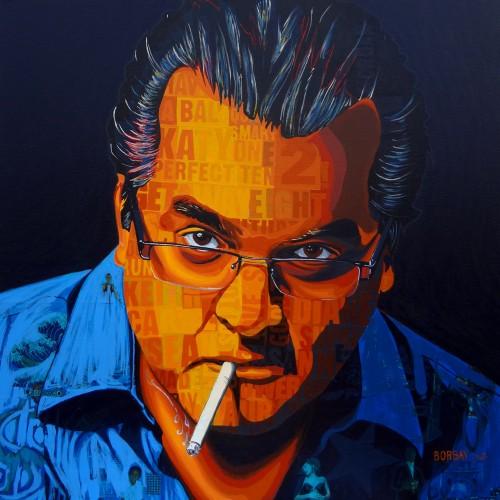 Simon Fredricks a Portrait by Borbay