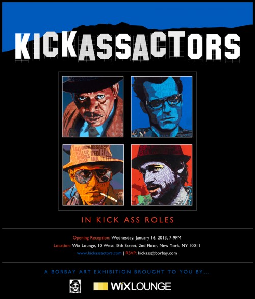 Borbay Kick Ass Actors In Kick Ass Roles Poster