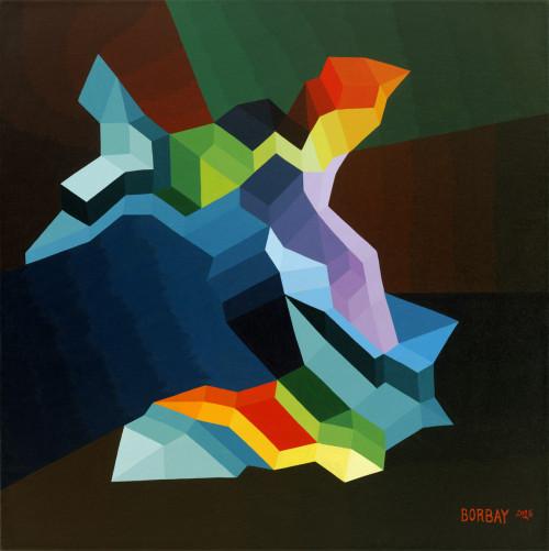 Mindscape Vega Painting by Borbay