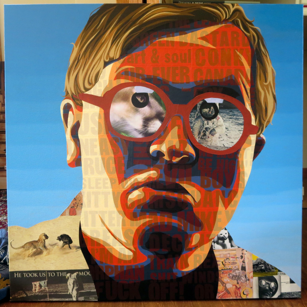 Bubbles Trailer Park Boys Painting Process By Borbay 2015