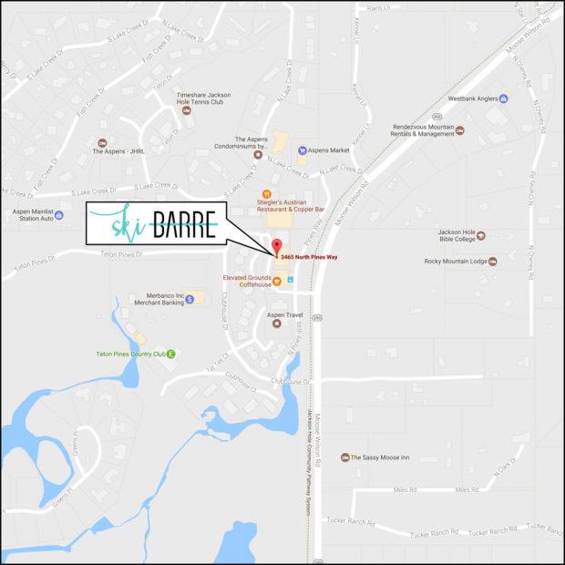 Ski Barre Map