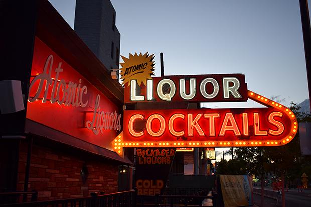 Atomic Liquors Las Vegas by Borbay