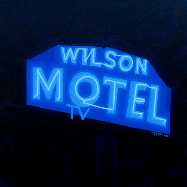 Wilson Motel Session Painting by Borbay